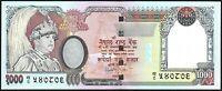 2002 NEPAL 1000 RUPEES BANKNOTE * gEF * P-51