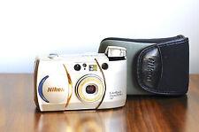 NIKON Lite*Touch Zoom 70Ws AF  w/ Case   35mm film Camera, 28-70mm Macro * EXC *