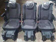 FORD TRANSIT CUSTOM REAR SEAT SET WITH ARM RESTS ALSO CAMPER CONVERSION
