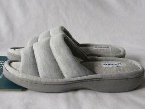 AEROSOLES Indoor/Outdoor size M Gray MEMORY FOAM Comfort Slide Slippers