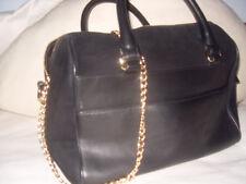 Handtasche, Zara, Bowling Bag, echt Leder, schwarz, Speedy Form!