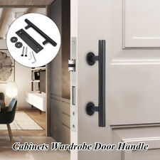 12 inch Stainless Steel Sliding Barn Door Pull Flush Door Wardrobe Handle Set