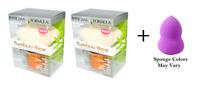 Physicians Formula Bamboo Wear Bambuki Brush (2 Pack) + Makeup Sponge