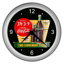 Wall Clock Japan  Coca-Cola Classis Retro Ads 1957  Retro Rare Design!
