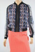 $228NEW WOMEN BCBG MAX AZRIA Harrison Paisley-Print Jacket SZ XS multicolorCute