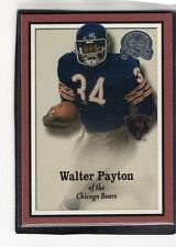 """2000  WALTER PAYTON - Fleer """"Greats of the Game"""" Football Card # 82 - Chicago"""