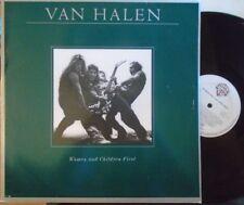 VAN HALEN ~ Women & Children First ~ VINYL LP DUTCH PRESS & POSTER