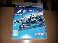 ## Sony PLAYSTATION 3/PS3 Game - F1 2012 Formula 1 - Top##