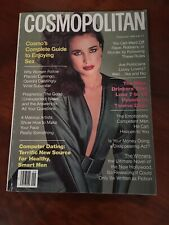 COSMOPOLITAN MAGAZINE SEPTEMBER, 1982-ANDIE MACDOWELL - COVER BY F. SCAVULLO
