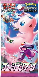 (1pack) Pokemon Card Game TCG booster pack Fusion Arts JAPANESE