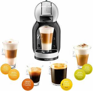 Krups KP123B40 Pod Coffee Machine Nescafe Dolce Gusto 1500w Grey & Black