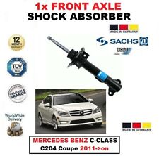 FOR MERCEDES BENZ C-CLASS C204 Coupe 2011->on 1x FRONT AXLE SACHS SHOCK ABSORBER