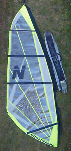 NORTHWAVE SURFLITE 3.7 METER² WINDSURFING SAIL, LANDSAILING ICE YACHTING