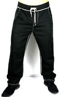 True Religion $149 Men's Contrast Big T Wide Leg Sweatpants/Pants - M9FB197NQ9