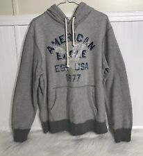 American Eagle Hoodie Gray Size Large