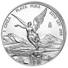 Silber Libertad 2018 1 OZ Onza Unze Ounce Silver Argent Mexiko Mexico Mexique