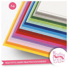 A4 Coloured Craft Card 240gsm 25-50 Sheet Packs, Matte, Double Sided Cardmaking