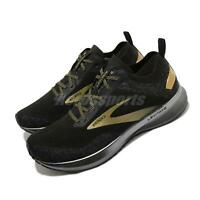 Brooks Levitate 4 Victory Edition Black Gold Men Road Running Shoes 1103451D-054