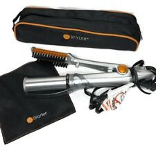 Instyler Rotating Iron IS1001 Tre Milano 1 1/4 inch Barrel With Travel Case