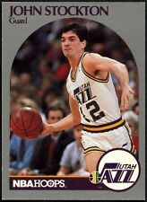 John Stockton #294 - Utah Jazz-Aros-Tarjeta de Baloncesto 1990-1991 (C494)