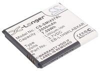 2050mAh Battery For SAMSUNG GT-I8730, GT-I8730T, SGH-I437 (p/n EB-L1H9KLA) new