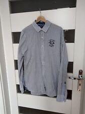 Camp David regular fit hemd Gr M perfekt Gestreift weiss