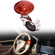 Universal Car Steering Wheel Power Handle grip Knob Power ball peach wood Color
