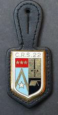 Insigne Police C.R.S.22 Compagnie Républicaine de Sécurité