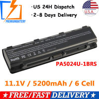 Laptop Battery for Toshiba Satellite C850 C55T-A5314 PA5109U-1BRS Power Supply