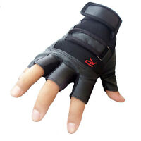 Men Climbing Bicycle Outdoor Sports Tactical Anti-skid Half Finger Gloves AD