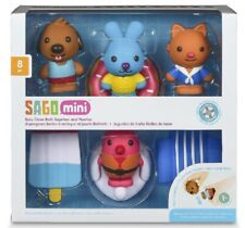 Sago Mini Bath Toys Easy Clean Bath Squirters And Floaties 8 Piece Set Gift New