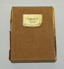 Vitnage Canasta Congress Playing Cards Cel-U-Tone In box W/ Instructions