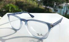New Ray-Ban Eyeglasses Blue Gradient Frames RB 7074 5601 (Demo Lens) 50-18-145