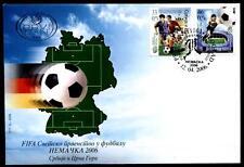 Fußball. WM-2006, Deutschland. FDC x 2W. Jugoslawien 2006