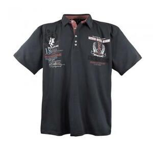 Lavecchia Polo Shirt Übergröße 3XL,4XL,5XL,6XL,7XL,8XL