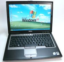 XP Pro Vintage Laptop Dell Latitude D630 Intel Core 2 Duo 2.0 GHz 500/4 GB RS232