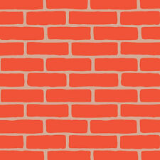 Bricks Craft Stencil - Size MEDIUM - By Cutting Edge Stencils