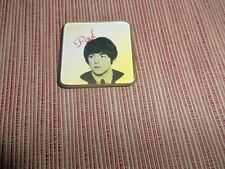 THE BEATLES ORIGINAL BROOCH-BADGE-PIN PAUL McCARTNEY 1964 WITH CLASP AWESOME