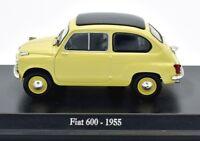MODELO AUTO FIAT 600 ESCALA 1:43 DIECAST MINIATURAS COCHE NOREV