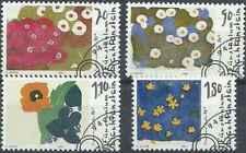 Timbres Flore Arts Tableaux Liechtenstein 1073/6 o (29989)