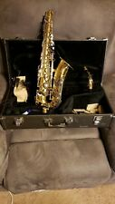Yamaha alto saxophone YAS-23 instrument W/Hard case & extras YAS23 MADE IN JAPAN