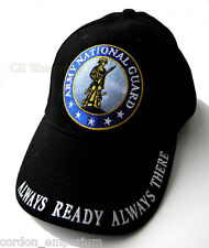 UNITED STATES ARMY NATIONAL GUARD EMBROIDERED BASEBALL CAP HAT