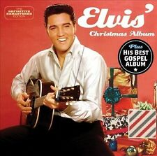 Presley, Elvis : Elvis Christmas Album + His Hand in Mine CD