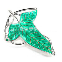 Magic Castle Lord of the Rings Arwen Evenstar Elven Leaf Brooch Necklace Pendant