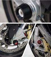 BMW 2019, 2020 S1000RR Premium Front Wheel Fork Slider Protector, crash bobbins