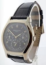 Patek Philippe Perpetual Calendar 18k Gold Mens Automatic Watch Box/Papers 5040G