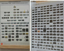 SET OF TWO  Leica Stammbaum & Canon Family Tree Camera Posters 35mm Film