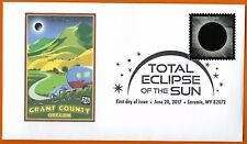 Grant County Oregon. US Highway Route 26. Total Eclipse of the Sun FDC