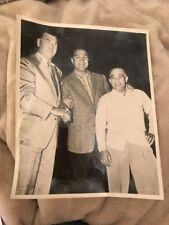 JACK DEMPSEY ROCKY MARCIANO AND CHAPPIE ROBERTS VINTAGE BOXING PHOTO