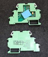 PHOENIX CONTACT 10 Stück Relaismodul Relaisklemme DEK-REL-24/I/1 2940171 Grün